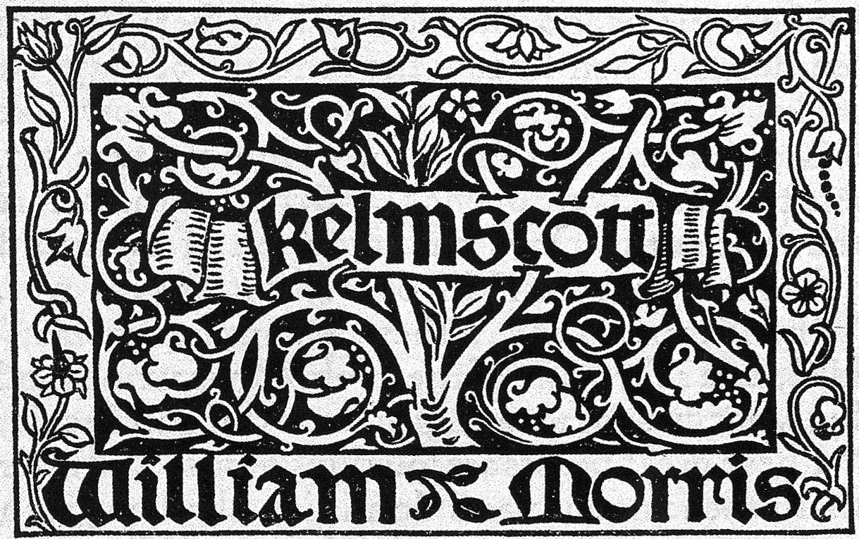 Arts And Crafts Movement Fonts